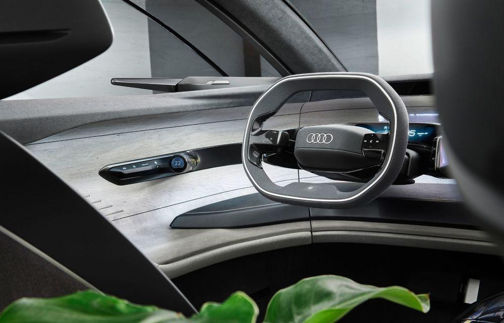 Audi Grandsphere Concept: autonomie de peste 750 de kilometri și încărcare ultrarapidă la 270 kW - Poza 32