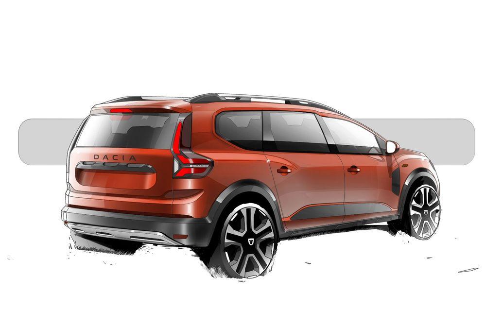 PREMIERĂ: Dacia Jogger debutează cu motor nou de 110 CP. Versiune hibrid programată pentru 2023 - Poza 51