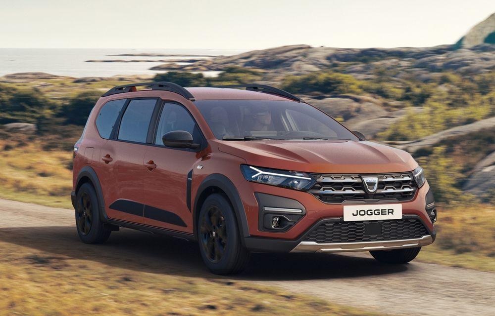 PREMIERĂ: Dacia Jogger debutează cu motor nou de 110 CP. Versiune hibrid programată pentru 2023 - Poza 1