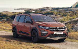 PREMIERĂ: Dacia Jogger debutează cu motor nou de 110 CP. Versiune hibrid programată pentru 2023
