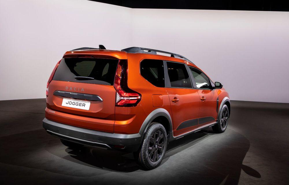 PREMIERĂ: Dacia Jogger debutează cu motor nou de 110 CP. Versiune hibrid programată pentru 2023 - Poza 17