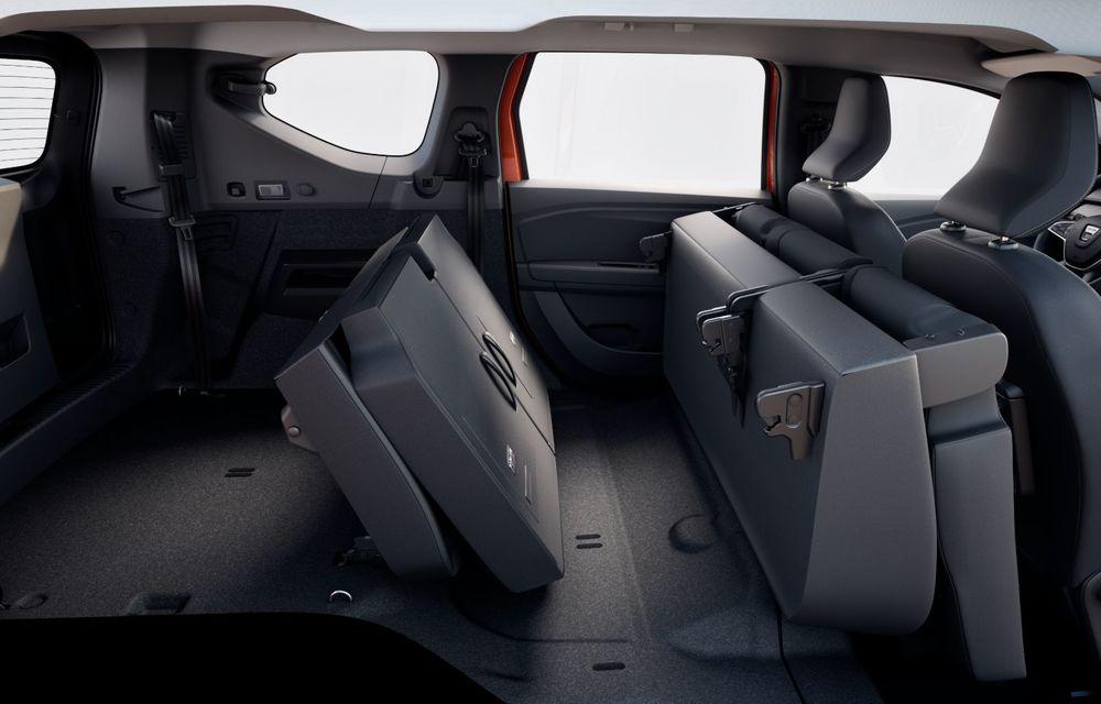 PREMIERĂ: Dacia Jogger debutează cu motor nou de 110 CP. Versiune hibrid programată pentru 2023 - Poza 37