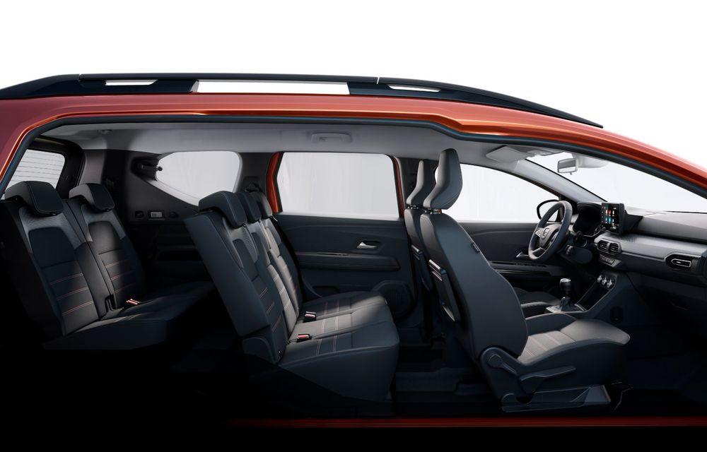 PREMIERĂ: Dacia Jogger debutează cu motor nou de 110 CP. Versiune hibrid programată pentru 2023 - Poza 33