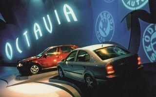 Skoda sărbătorește 25 de ani de la debutul primei generații Octavia