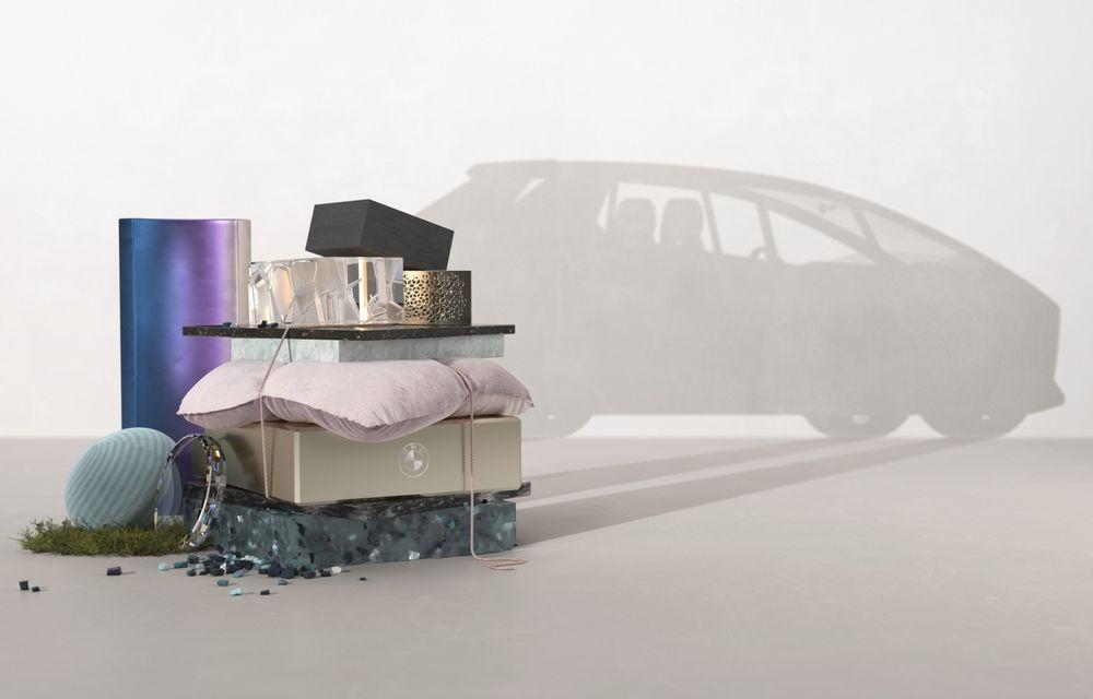 BMW publică un teaser cu un concept 100% reciclabil. Debutează la Salonul Auto de la Munchen - Poza 1