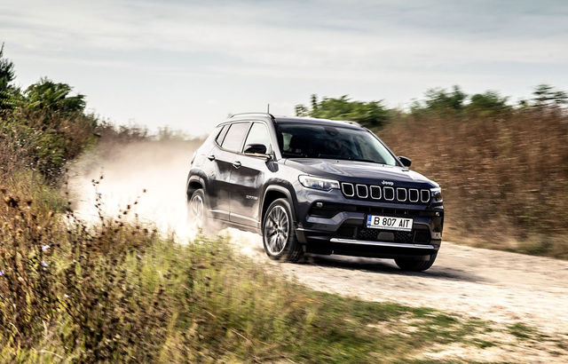Test drive Jeep Compass facelift