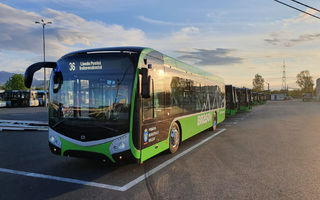 Noile autobuze electrice din Brașov au fost echipate cu un sistem care evită accidentarea pietonilor și bicicliștilor