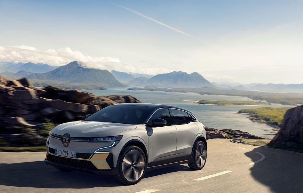 Noul Renault Megane 100% electric este aici: 130 CP sau 218 CP și autonomie de până la 470 km - Poza 2