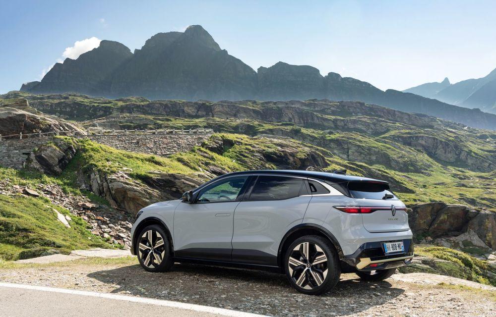 Noul Renault Megane 100% electric este aici: 130 CP sau 218 CP și autonomie de până la 470 km - Poza 23