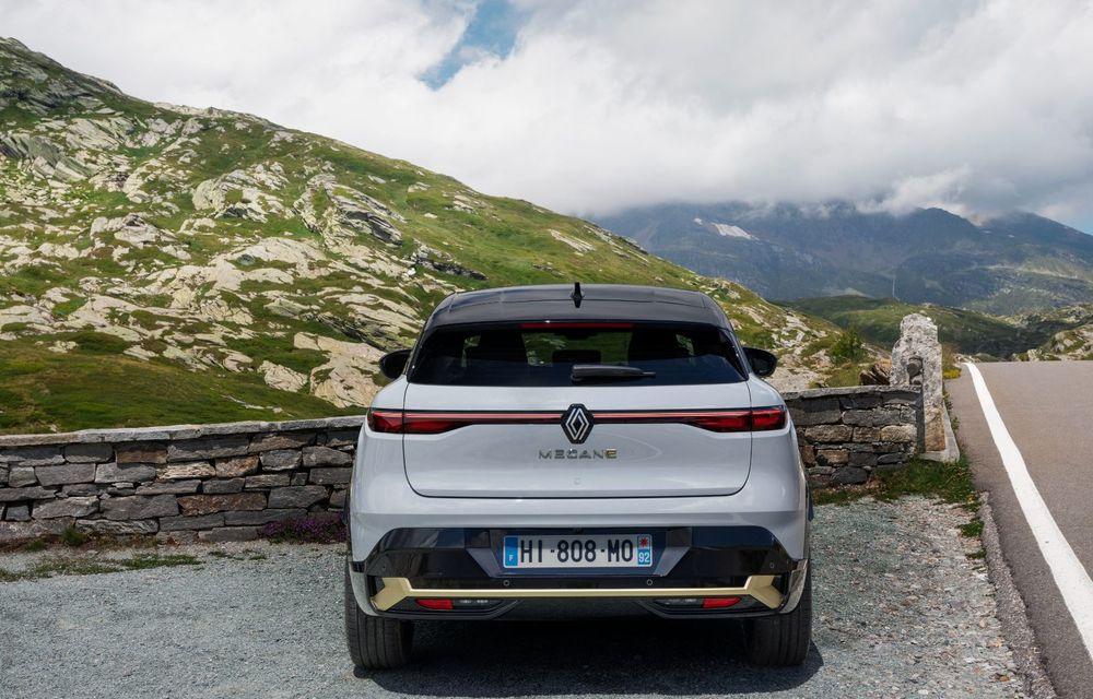Noul Renault Megane 100% electric este aici: 130 CP sau 218 CP și autonomie de până la 470 km - Poza 35