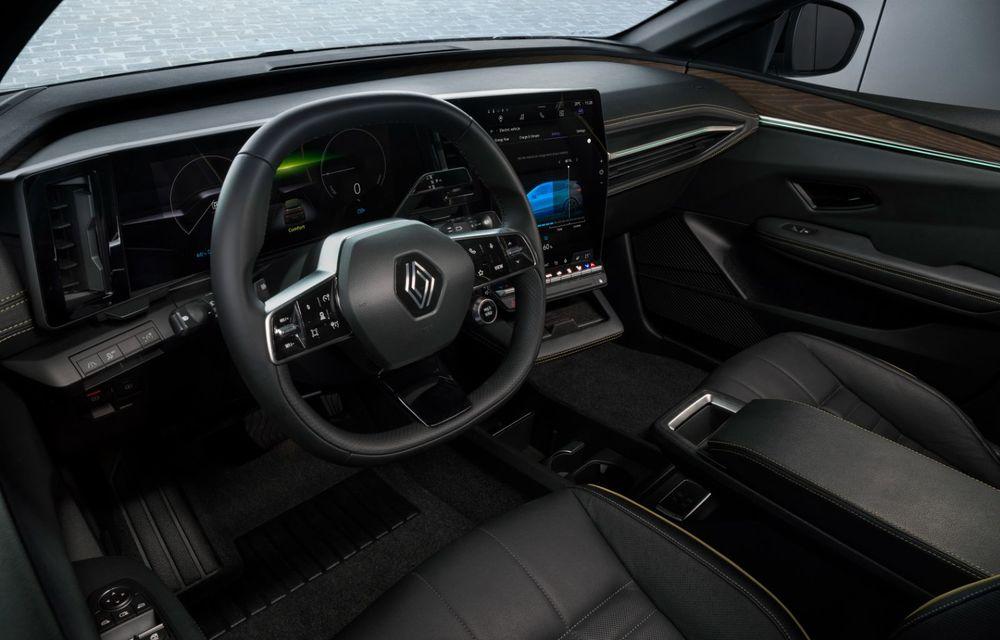 Noul Renault Megane 100% electric este aici: 130 CP sau 218 CP și autonomie de până la 470 km - Poza 49