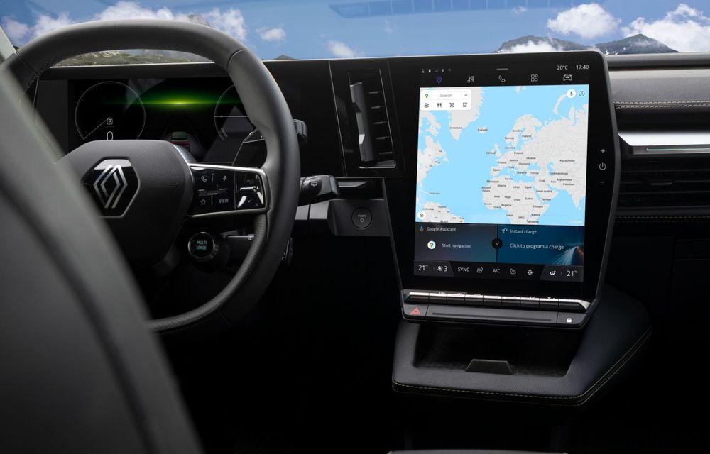 Noul Renault Megane 100% electric este aici: 130 CP sau 218 CP și autonomie de până la 470 km - Poza 53