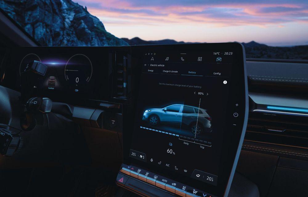Noul Renault Megane 100% electric este aici: 130 CP sau 218 CP și autonomie de până la 470 km - Poza 56