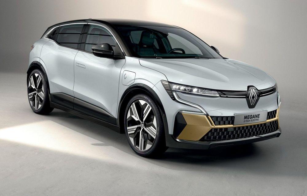 Noul Renault Megane 100% electric este aici: 130 CP sau 218 CP și autonomie de până la 470 km - Poza 1