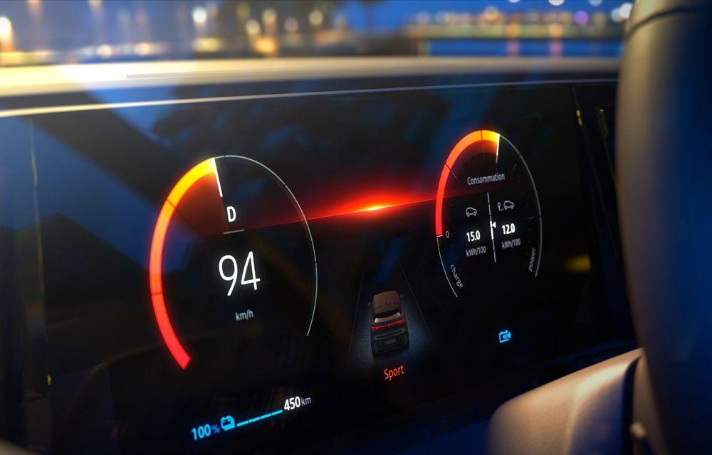 Noul Renault Megane 100% electric este aici: 130 CP sau 218 CP și autonomie de până la 470 km - Poza 70