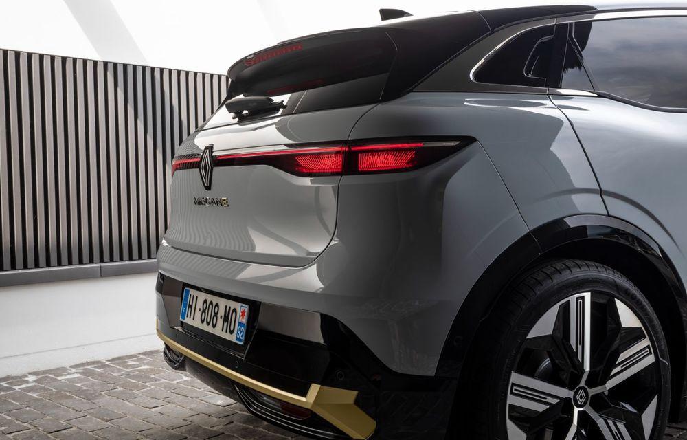 Noul Renault Megane 100% electric este aici: 130 CP sau 218 CP și autonomie de până la 470 km - Poza 78
