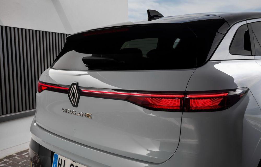 Noul Renault Megane 100% electric este aici: 130 CP sau 218 CP și autonomie de până la 470 km - Poza 82