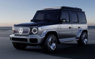 Mercedes-Benz EQG Concept: avem dovada că germanii vor lansa un G-Klasse electric