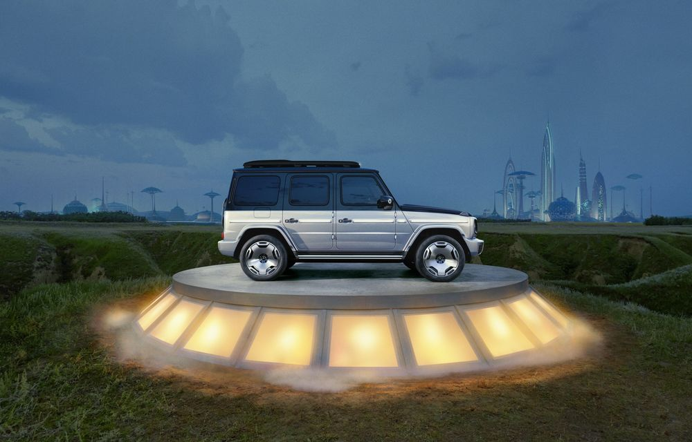 Mercedes-Benz EQG Concept: avem dovada că germanii vor lansa un G-Klasse electric - Poza 5