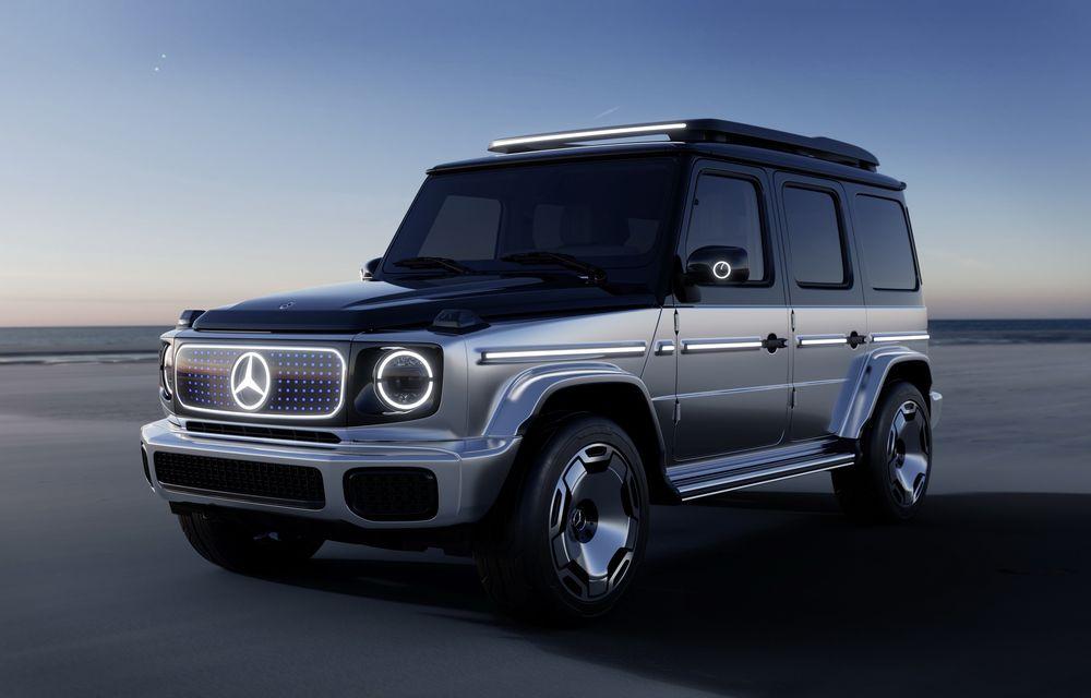 Mercedes-Benz EQG Concept: avem dovada că germanii vor lansa un G-Klasse electric - Poza 9