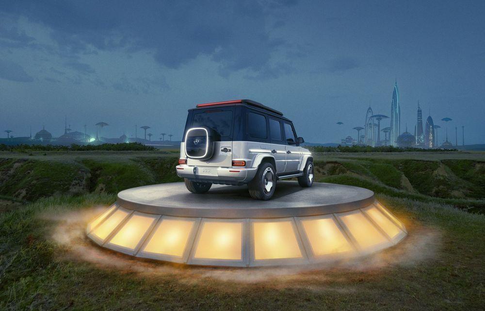 Mercedes-Benz EQG Concept: avem dovada că germanii vor lansa un G-Klasse electric - Poza 13