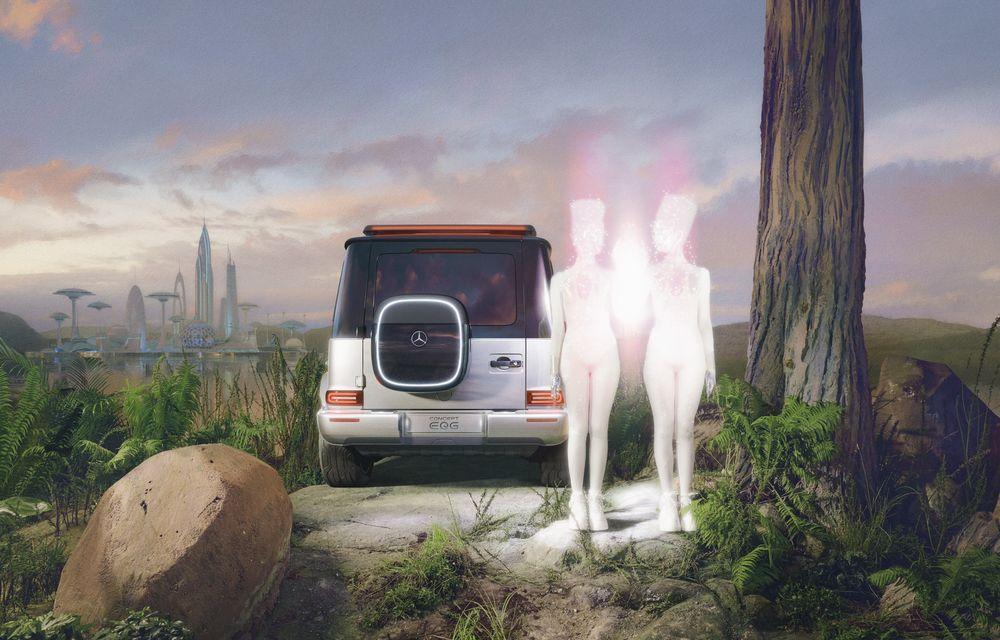 Mercedes-Benz EQG Concept: avem dovada că germanii vor lansa un G-Klasse electric - Poza 17