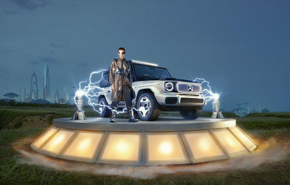 Mercedes-Benz EQG Concept: avem dovada că germanii vor lansa un G-Klasse electric - Poza 3