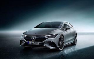 Noul Mercedes-Benz EQE: rivalul lui Tesla Model S debutează cu 292 CP și 660 km autonomie
