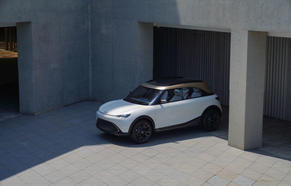 Smart prezintă Concept #1, prototipul ce prefigurează un viitor SUV electric - Poza 2