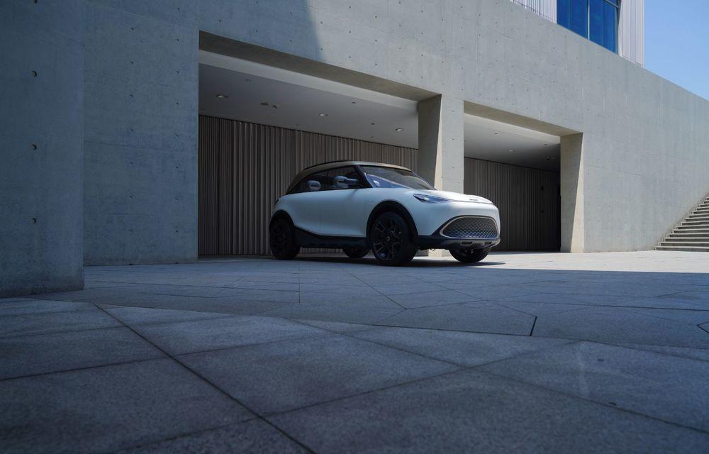 Smart prezintă Concept #1, prototipul ce prefigurează un viitor SUV electric - Poza 3