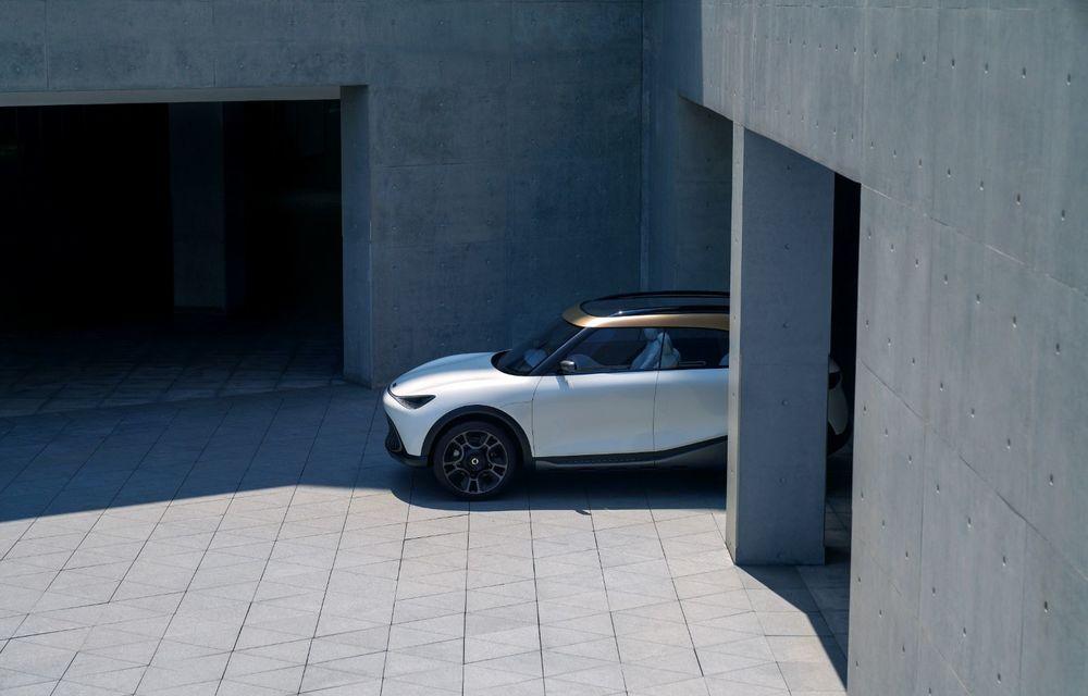 Smart prezintă Concept #1, prototipul ce prefigurează un viitor SUV electric - Poza 4