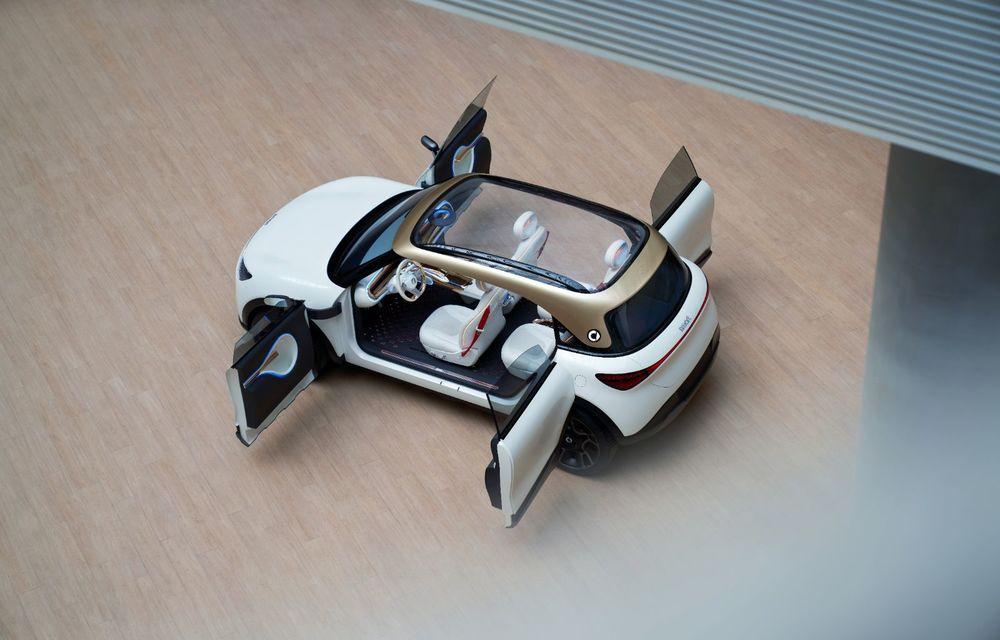Smart prezintă Concept #1, prototipul ce prefigurează un viitor SUV electric - Poza 6