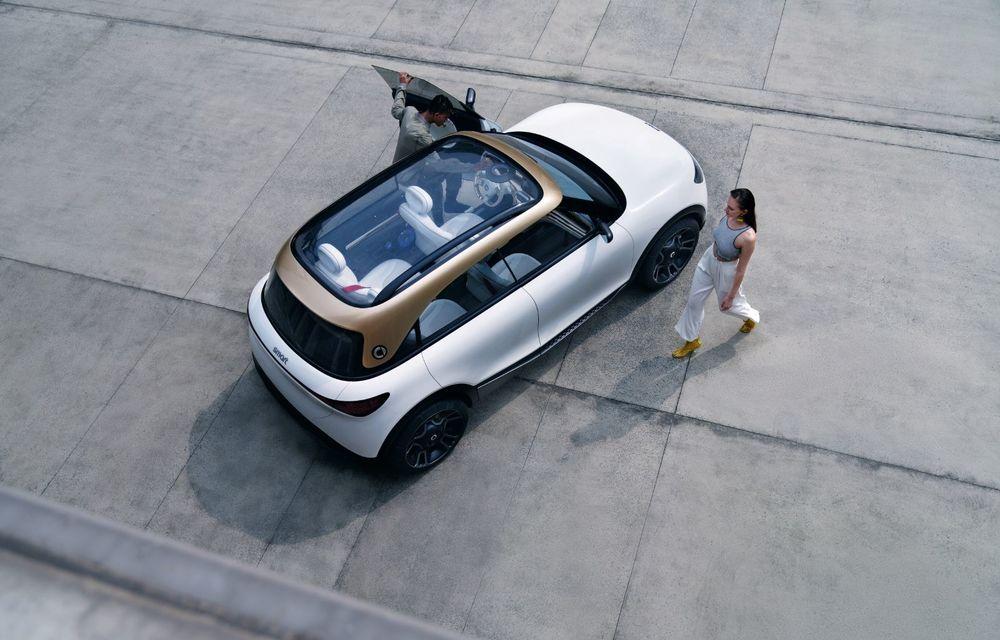 Smart prezintă Concept #1, prototipul ce prefigurează un viitor SUV electric - Poza 7