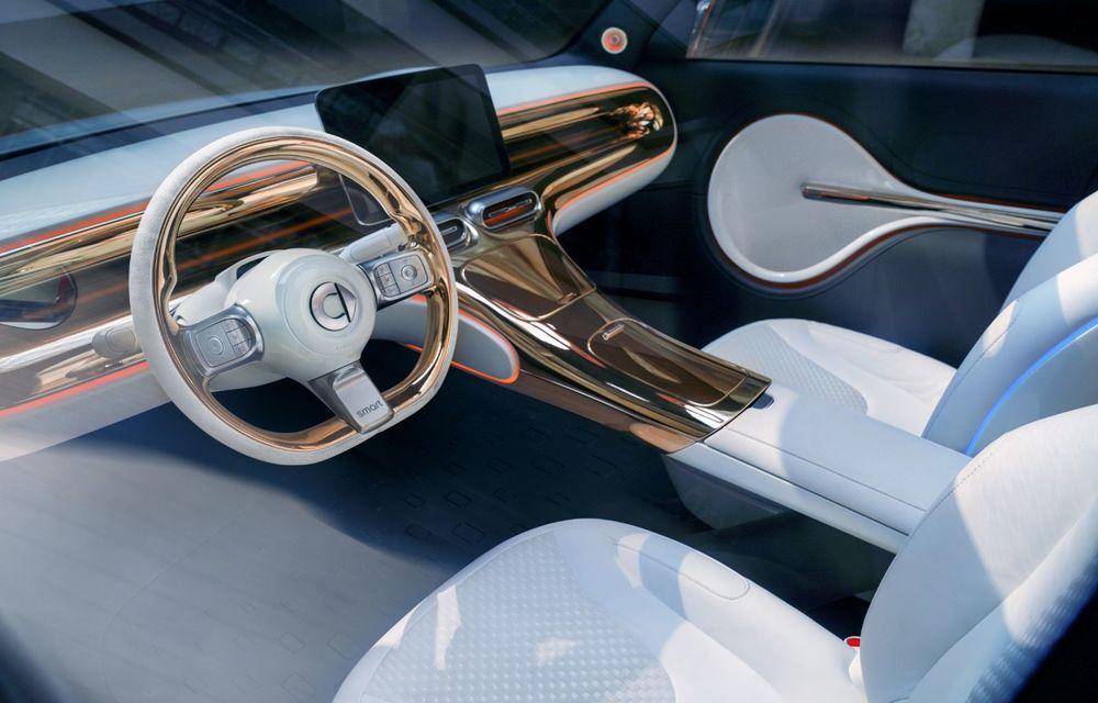 Smart prezintă Concept #1, prototipul ce prefigurează un viitor SUV electric - Poza 8