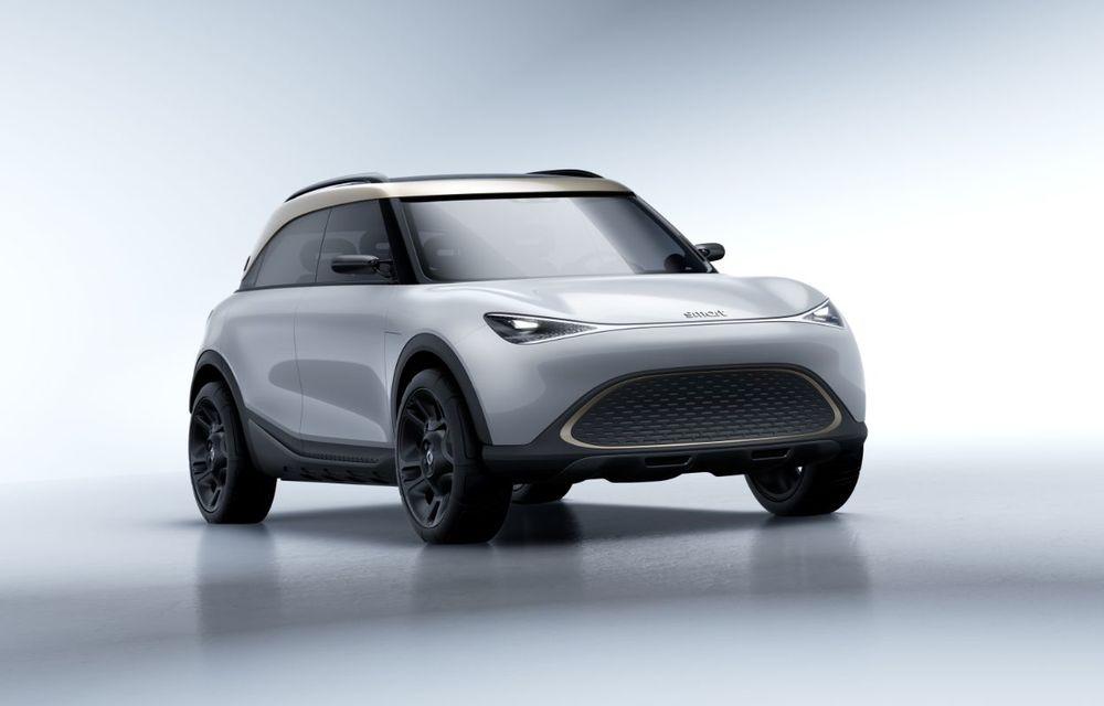 Smart prezintă Concept #1, prototipul ce prefigurează un viitor SUV electric - Poza 9