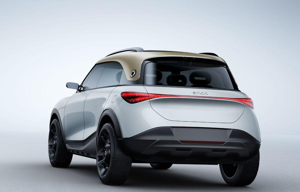 Smart prezintă Concept #1, prototipul ce prefigurează un viitor SUV electric - Poza 11