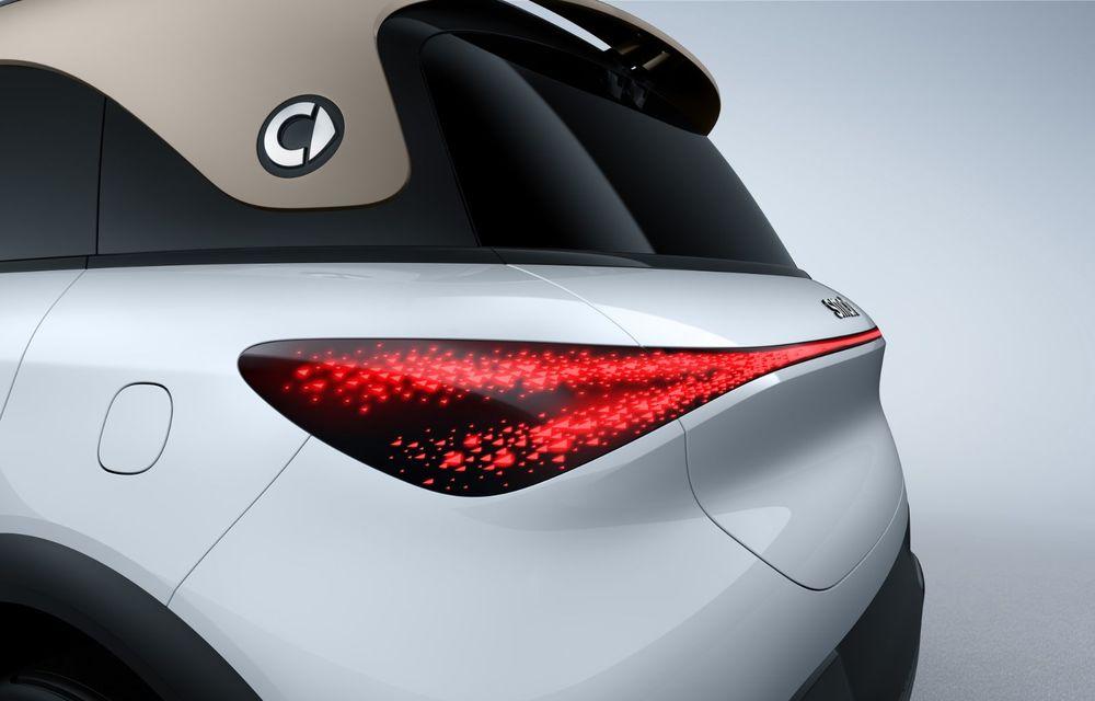 Smart prezintă Concept #1, prototipul ce prefigurează un viitor SUV electric - Poza 12
