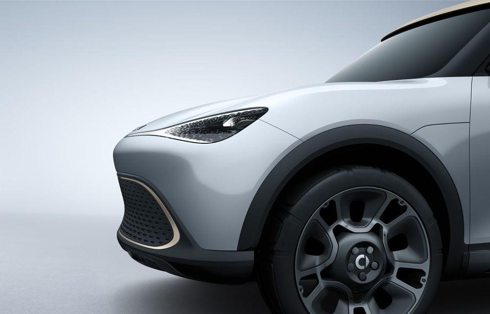 Smart prezintă Concept #1, prototipul ce prefigurează un viitor SUV electric - Poza 13