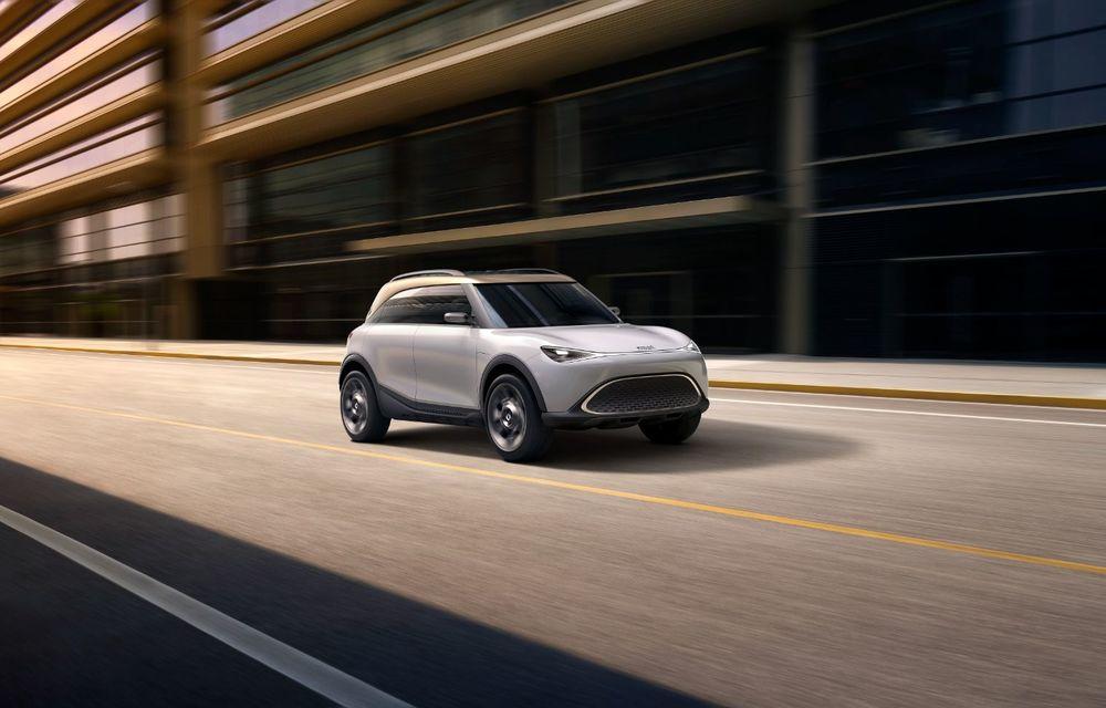 Smart prezintă Concept #1, prototipul ce prefigurează un viitor SUV electric - Poza 19