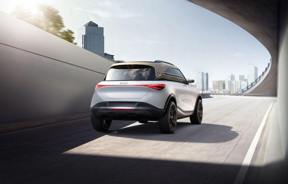 Smart prezintă Concept #1, prototipul ce prefigurează un viitor SUV electric - Poza 20