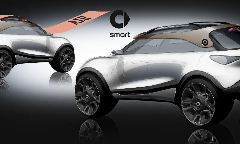 Smart prezintă Concept #1, prototipul ce prefigurează un viitor SUV electric - Poza 22