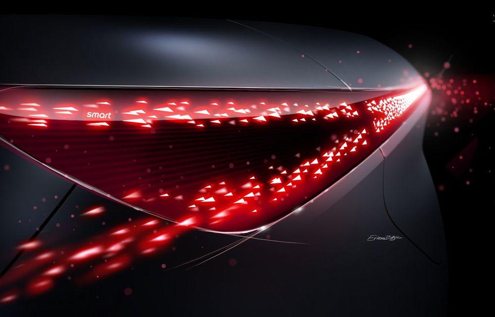 Smart prezintă Concept #1, prototipul ce prefigurează un viitor SUV electric - Poza 23