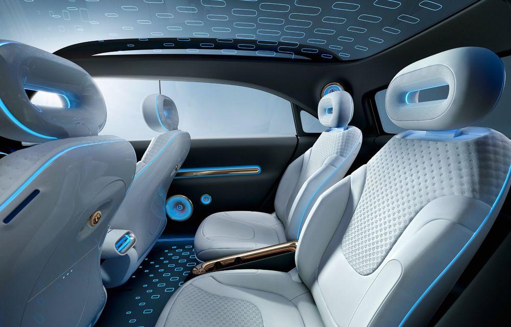 Smart prezintă Concept #1, prototipul ce prefigurează un viitor SUV electric - Poza 16