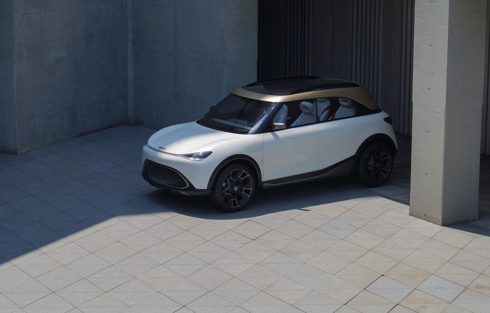 Smart prezintă Concept #1, prototipul ce prefigurează un viitor SUV electric - Poza 1