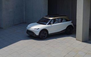 Smart prezintă Concept #1, prototipul ce prefigurează un viitor SUV electric
