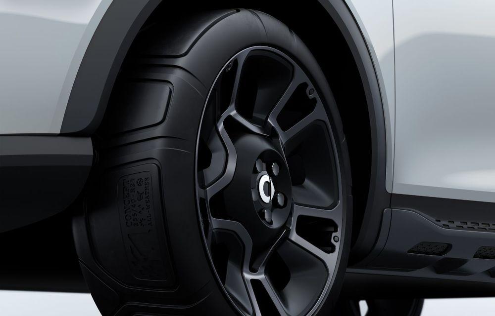 Smart prezintă Concept #1, prototipul ce prefigurează un viitor SUV electric - Poza 14