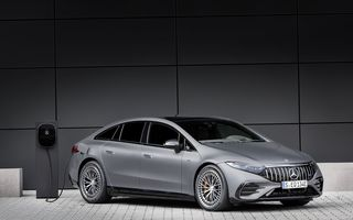 Primul Mercedes-AMG electric din istorie: EQS 53 are până la 761 CP și 580 de kilometri autonomie