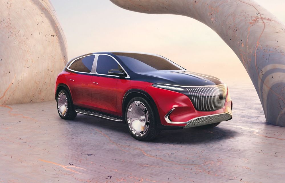 Conceptul Mercedes-Maybach EQS SUV anunță un viitor SUV de lux cu zero emisii. Debutează în 2023 - Poza 2