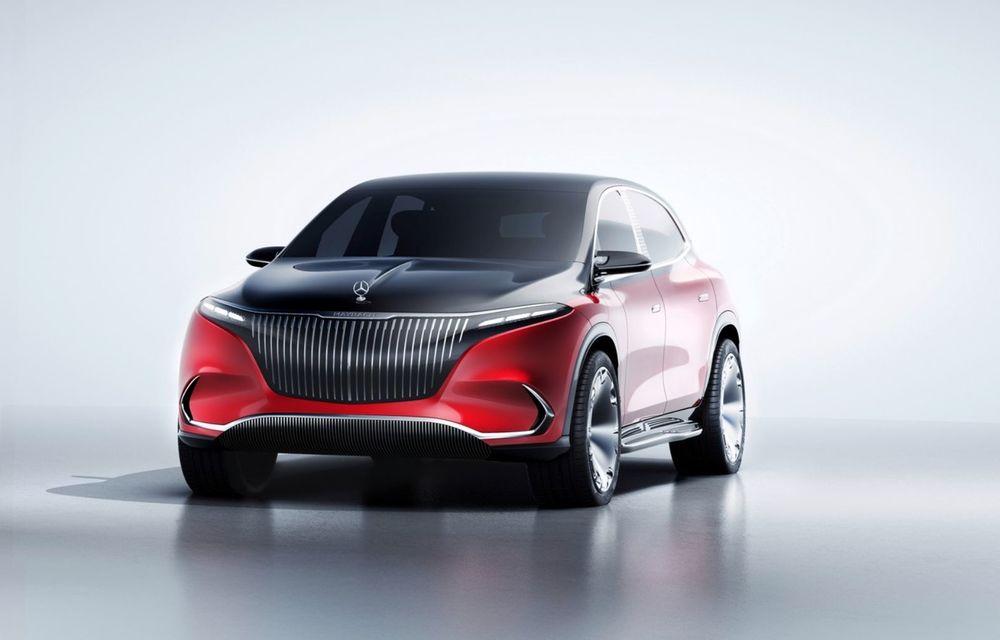 Conceptul Mercedes-Maybach EQS SUV anunță un viitor SUV de lux cu zero emisii. Debutează în 2023 - Poza 4