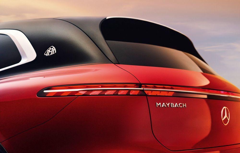 Conceptul Mercedes-Maybach EQS SUV anunță un viitor SUV de lux cu zero emisii. Debutează în 2023 - Poza 16